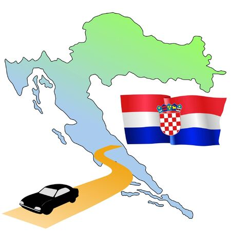 roads of Croatia