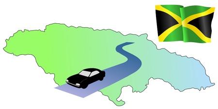 roads of Jamaica