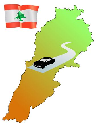 roads of Lebanon
