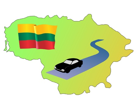 roads of Lithuania