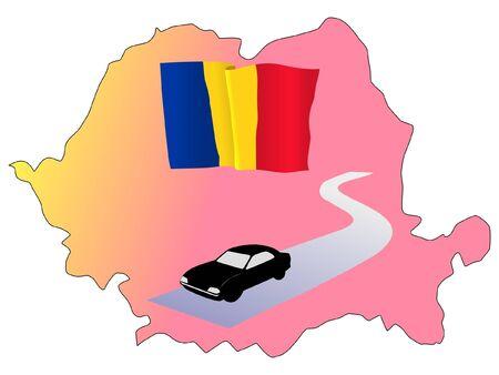 roads of Romania