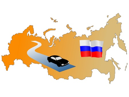 roads of Russia