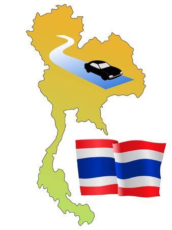 roads of Thailand