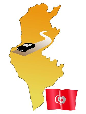 roads of Tunisia