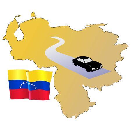 roads of Venezuela