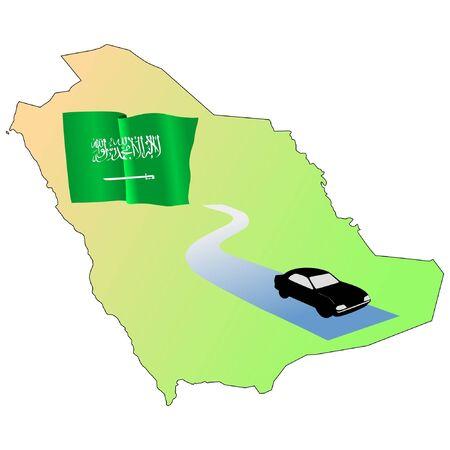 roads of Saudi Arabia