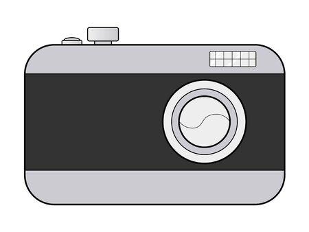illustration of digital camera