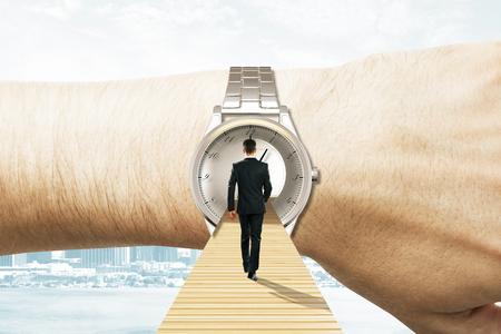 Photo pour Time travel concept - image libre de droit