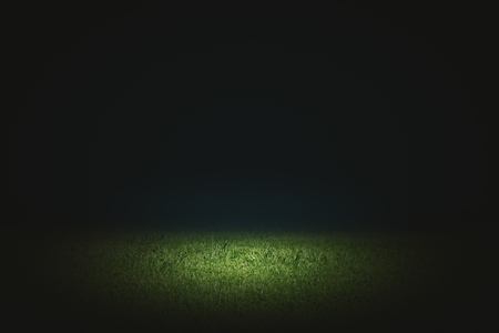 Photo for Creative black football field background. Copy space  - Royalty Free Image