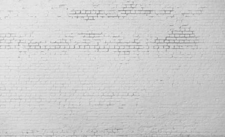 High resolution white brick wall