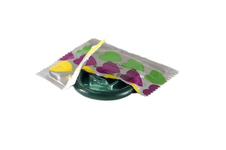 Isolated Condom