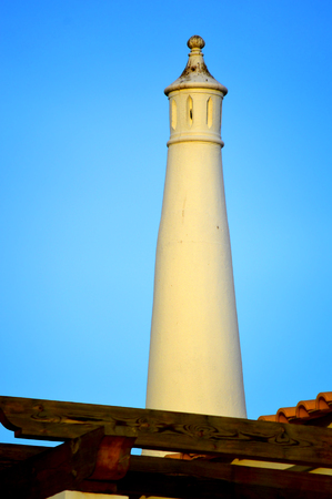 A typical Portuguese chimney pot