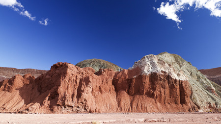 colorful rocks in Chile, Rainbow Valley