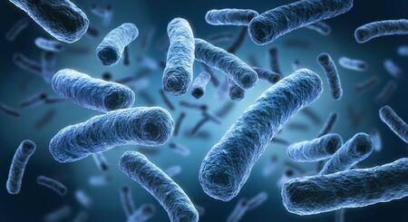 Photo pour Legionella - 3D illustration of bacteria - image libre de droit