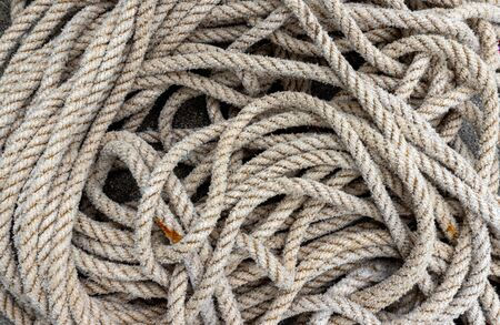 Rope on pier