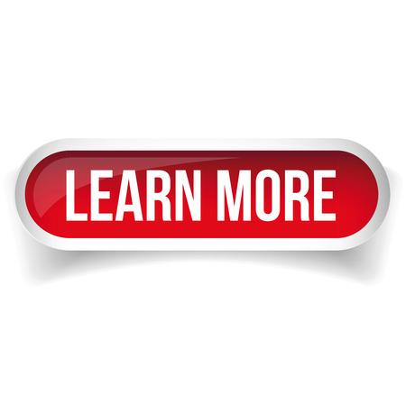 Illustration pour Learn more button vector - image libre de droit