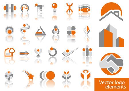 Illustration pour Abstract vector logo element illustrations - image libre de droit