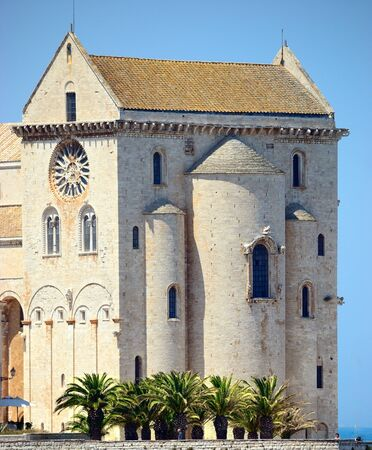 A particular view of the magnificent cathedral of Trani BA