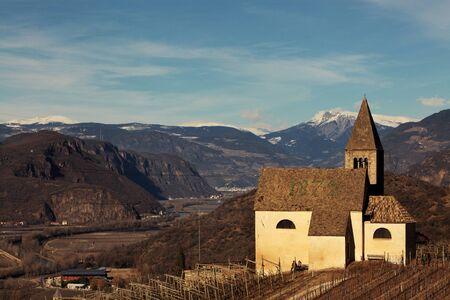 Nostra Signora di Villa, church in Egna, Alto Adige, Italy