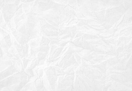 Foto de White crumpled paper texture background. - Imagen libre de derechos