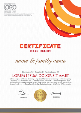 Business and other Certificate template.