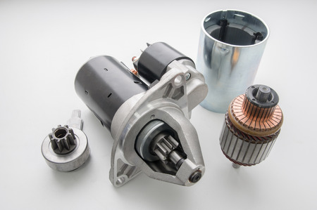 Starter for car and parts of it