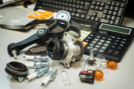 Photo pour automotive parts - image libre de droit
