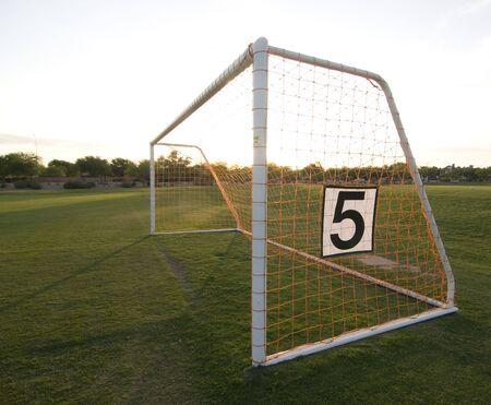 Football goal soccer net