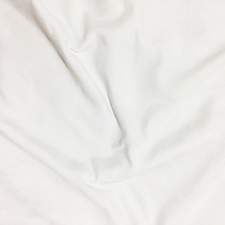Close up of bedding sheets with copy-space.