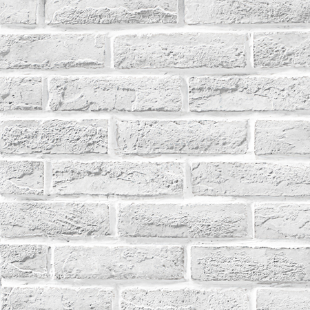 Foto de White brick wall as a background or texture. - Imagen libre de derechos