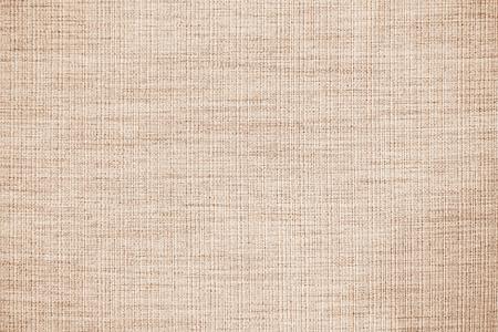 Photo pour Brown linen fabric texture or background - image libre de droit
