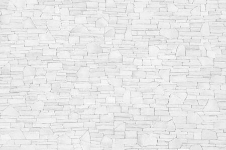 Photo for White gray slate stone background or texture - Royalty Free Image