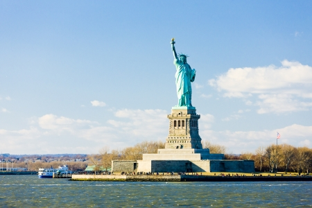 Liberty Island and Statue of