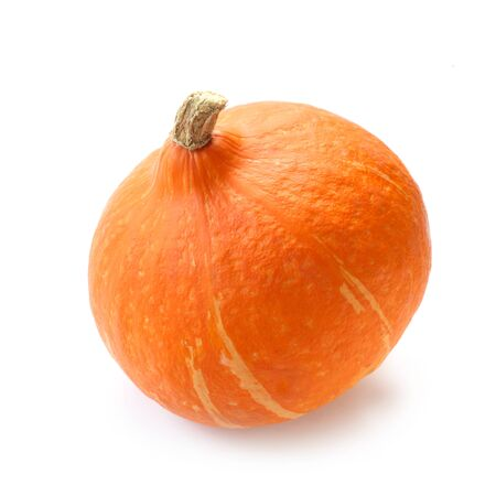 Photo for Hokkaido Pumpkin Isolated On White - Royalty Free Image
