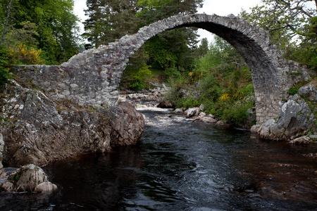 Packhorse bridge at Carrbridge