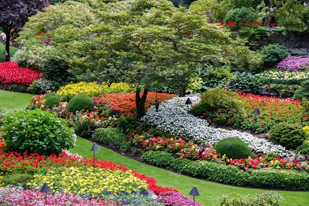 Butchart Gardens Brentwood Bay near Victoria Vancouver Island British Colombia Canada
