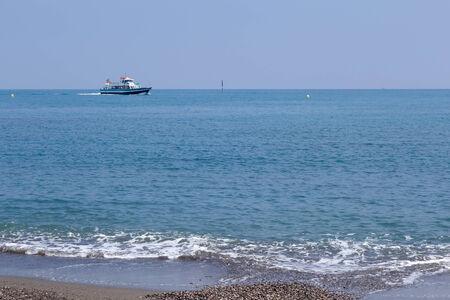 Ferry off the coast of Benalmadena