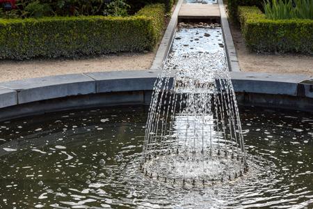 Water feature in Alnwick Castle gardens