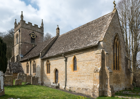 View of St. Peter's Church in Upper Slaughter