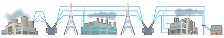 Electricity supplies_National grid