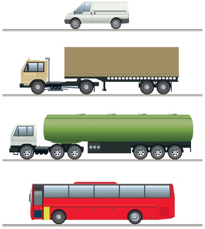 Photo for Commercial vehicles elevations - Royalty Free Image
