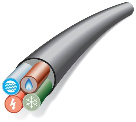 House and office services cable