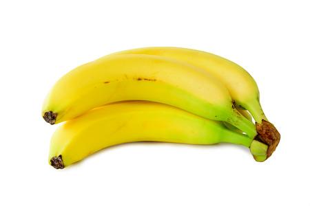 Photo pour Bananas on a white  - image libre de droit
