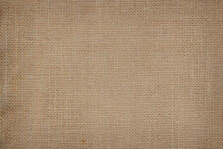 Photo pour Brown Hemp rope texture background. Sackcloth or blanket wale linen wallpaper. Rustic sack canvas fabric texture in natural. Haircloth vintage linen burlap weaving, Old beige carpet background. - image libre de droit