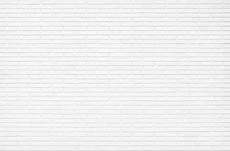 Photo for White brick wall texture background in room at subway. Brickwork stonework interior, rock old concrete grid uneven abstract weathered grey clean tile design, horizontal architecture wallpaper. - Royalty Free Image