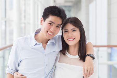 Foto de A happy young asian couple - Imagen libre de derechos