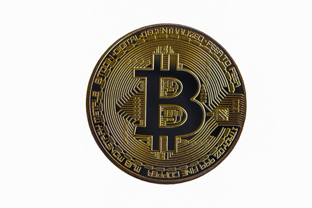 Modern way of exchange and bitcoin is convenient payment in global economy market. Virtual digital currency and financial investment trade concept. Cryptocurrency with gold bitcoin and other currency.