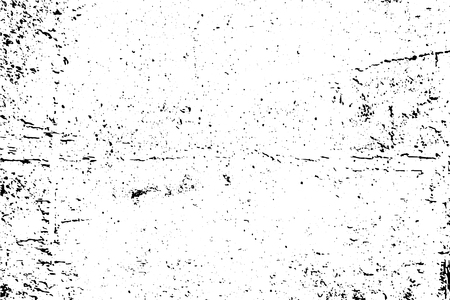 Illustration pour Black and white grunge urban texture vector with copy space. Abstract illustration surface dust and rough dirty wall background with empty template. Distress and grunge effect concept. Vector . - image libre de droit