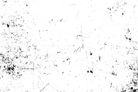 Illustration for Black and white grunge. Distress overlay texture. Abstract surface dust and rough dirty wall background concept.  Distress illustration simply place over object to create grunge effect. Vector EPS10. - Royalty Free Image