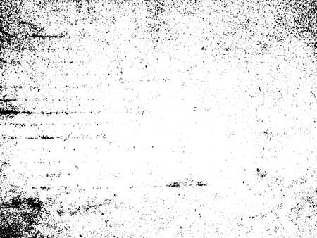 Illustration for Black and white grunge. Distress overlay texture. Abstract surface dust and rough dirty wall background concept.  Distress illustration simply place over object to create grunge effect. Vector - Royalty Free Image